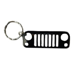 Jeep Key Chain:  Jeep JK Grille