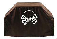 Jeep Skull & Crossbones Barbeque Grill Cover