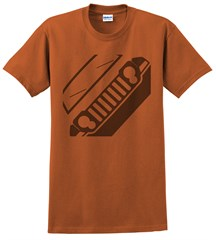Jeep KK Liberty Front Silhouette Men's Tee