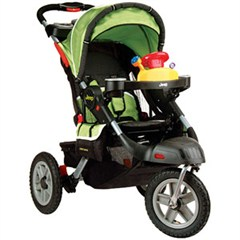 Jeep Liberty Limited Urban Terrain Stroller-Spark Green