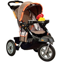 Jeep� Liberty Sport X All-Terrain Stroller-Sonar