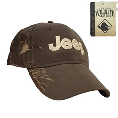 Jeep Logo Embroidered Hat with Duck Design