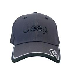 Jeep Logo Liquid Metal Cap in Charcoal