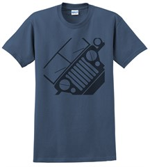 Jeep MB Willys Front Silhouette Men's Tee