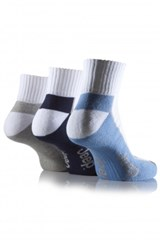 Jeep Mens Sports Ankle Socks (3-pack)