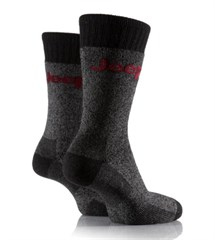 Jeep Men's Wool Mix Boot Socks (2-pack)