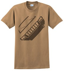 Jeep MK Compass Front Silhouette Men's Tee