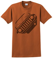 Jeep MK Patriot Front Silhouette Men's Tee