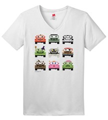 Jeep Monster Mash Women's V-Neck T-Shirt
