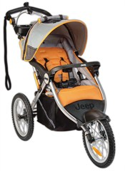 Jeep� Overland Limited Jogging Stroller