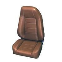 Front Seat, Replacement w/Recliner-Jeep CJ &  Wrangler - Denim Spice