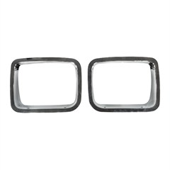 Headlight Bezels, Jeep YJ (1987-1995), Chrome