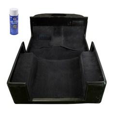 Carpet Kit, Adhesive, Jeep Wrangler TJ (1997-2006), Black