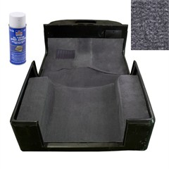 Carpet Kit, Adhesive, Jeep Wrangler TJ (1997-2006), Gray