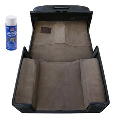 Deluxe Carpet Kit, Adhesive, Jeep Wrangler TJ (1997-2006), Honey
