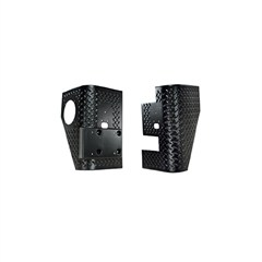 Rear Corner Guards, Pair, Jeep Wrangler TJ (1997-2006) Black