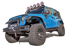 Flat Fender Flare Hardware Kit, Jeep JK (2007-2013)