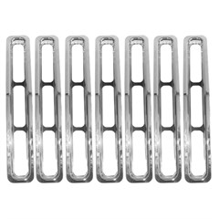 Grille Inserts for Jeep Wrangler YJ (1987-1995), Chrome