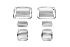 Stone Guard Set,  Jeep YJ (1987-1995), Billet-Style