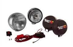 "Fog Light Kit, Round, HID, Stainless Steel Housing, 6"" Inch"