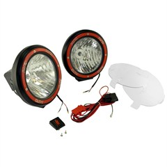 "Fog Light Kit, Round, Composite Housing, 7"" Inches"