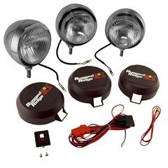 "Fog Light Kit, Round, HID, Stainless Steel Housing, 5"" Inch"