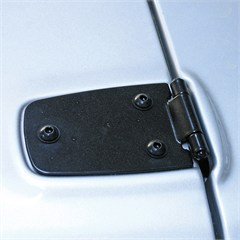 Hood Hinges for Jeep Wrangler TJ and LJ (1997-2006) in Black
