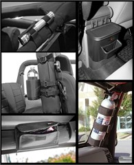 Interior Storage Kit, Jeep Wrangler JK (2007-2010)