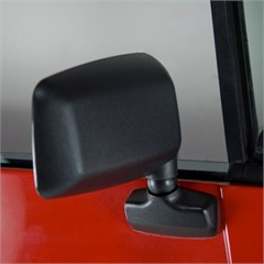 Door Mirror, Right Side Jeep YJ (1987-1995), Black