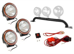 Light Bar Kit, HID, Jeep TJ (1997-2006), LJ (2004-2006)