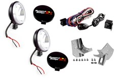 Windshield Light Mount Kit, Jeep TJ (1997-2006), LJ (2004-2006)