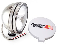 "Halogen Fog Light, 6"" Inch, Stainless Steel Housing"