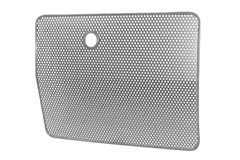 Radiator Bug Shield Jeep YJ (1987-1995), Stainless Steel