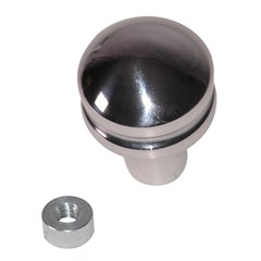Billet Shift Knob, Blank, Jeep CJ (1980-1986), YJ (1987-1995), TJ (1997-1998)