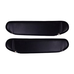 Sun Visors, Replacement, Jeep YJ (1987-1995), Black