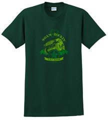 Shamrockin' Men's T-Shirt, Forest Green