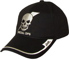 Jeep 3D Embroidered Special Ops Skull Hat