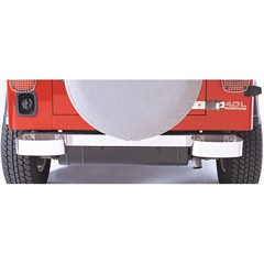Stainless Steel Bumperettes for Jeep CJ, YJ, TJ and LJ (1976-2006)