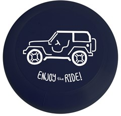 Enjoy the Ride Frisbee in Blue