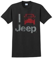 """""""I Jeep"""" Unisex Tee - Black"""