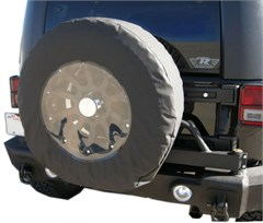 "Tire Cover 30-32"" with Clear"