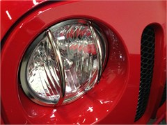 Headlight Euro Guards Wrangler JK 2007-2016 Stainless Steel