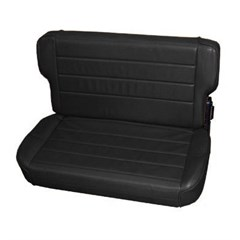 Rear Seat Fold & Tumble for Jeep Wrangler TJ, LJ - Denim Black