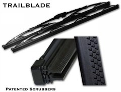 Trailblade Wiper Blade, Patented Dual Blade Technology 13-inch (each)