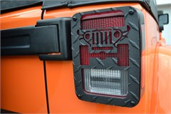 Jeep Tweaks Tail Light Guards for Jeep Wrangler 2007-2015, Black