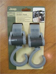 Jeep Universal Adjustable Stroller Hooks