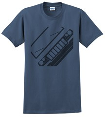 Jeep WJ Grand Cherokee Front Silhouette Men's Tee