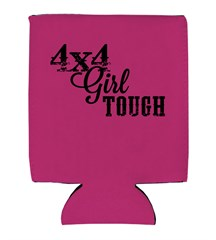 4x4 Girl Tough Neoprene Koozie