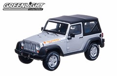 Collectible Jeep Wrangler Islander in Silver 1:43