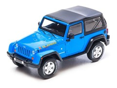 Collectible Jeep Wrangler Islander in Blue 1:43